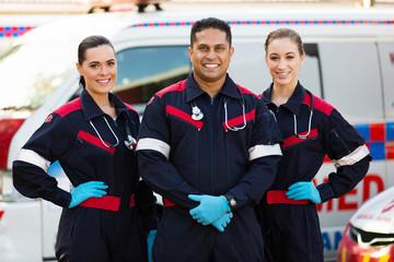 group of paramedics