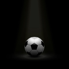 football / soccer ball background