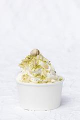 Frozen Joghurt Pistazien