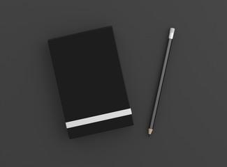Notizblock mit Bleistift