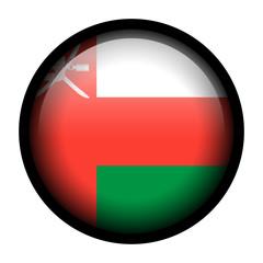 Flag button illustration with black frame - Oman