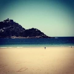 vue de la plage