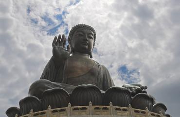 Giant Buddha Statue, Lantau island, Hong-Kong
