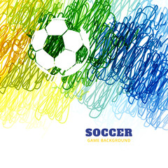 colorful football vector