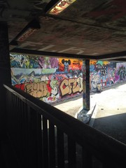 Legal Graffti Art Tunnel