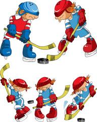 hockey super cartoons