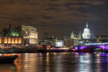 London River Thames Nightviews