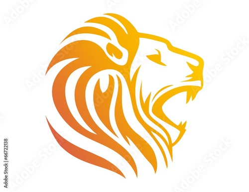 tiger head logo design