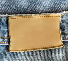 Blue Jeans Blank Label