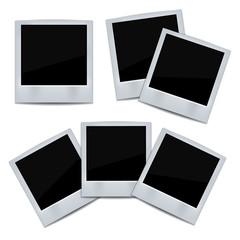 Photo frame on white background.