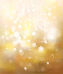 Vector glitter golden background.