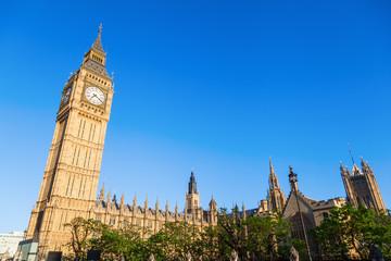 Fotomurales - Big Ben und Westminster Palace