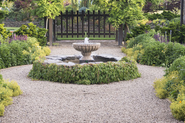 Beautiful Fountain Path