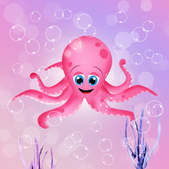 funy octopus