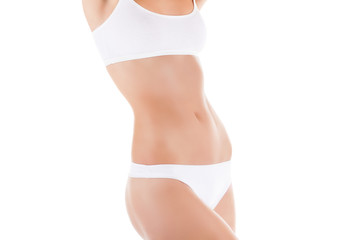 women waist body beauty belly