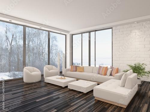 luftiges helles wohnzimmer mit parkettboden und wei er. Black Bedroom Furniture Sets. Home Design Ideas