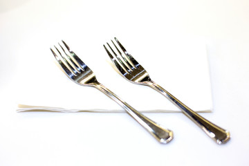 Close up of fork