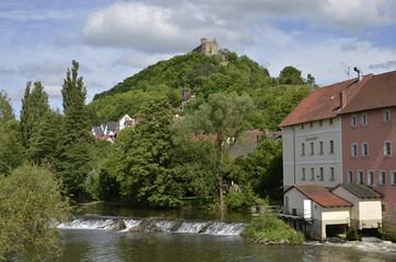 Burgruine Trimburg über der Saale, Trimberg-Elfershausen