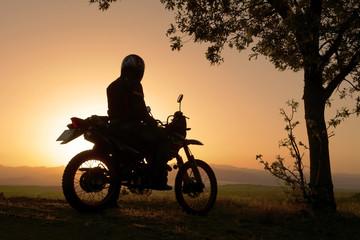 motorsiklet ve doğa