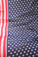 Decoration in american flag style
