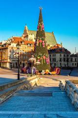 Новогодняя елка в Варшаве