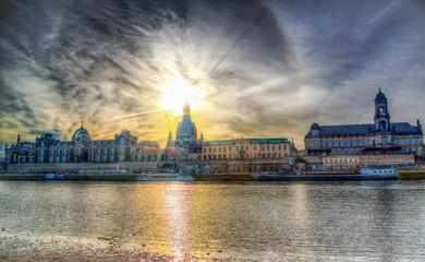 Вид на Старый Дрезден