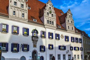 Старинный европейский дом