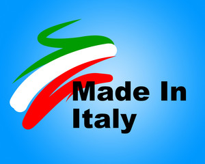Manufacturing Italy Means Commerce Purchase And Business