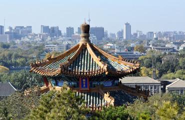 Fotobehang Beijing Old China. Beijing
