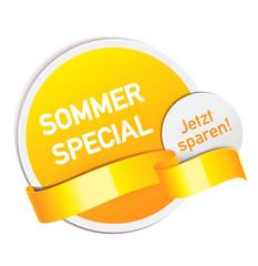 Sommer Special - Angebot