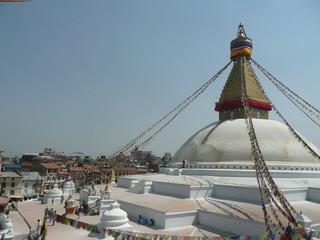 Stupa-Kuppel in Kathmandu