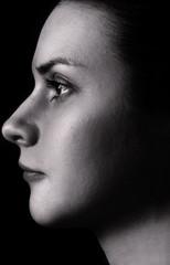Black and White Portrait