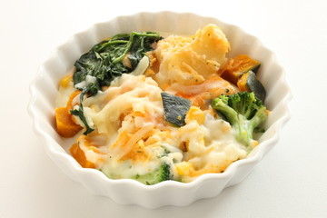 french food, vegetable gratin
