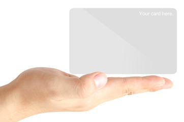 Show the blank card