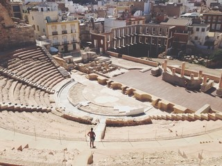 Teatro Romana in Cartagena,Spain