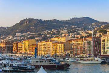 Nice, France. City port of Nice