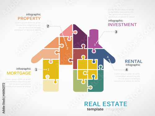 real estate infographics stock image and royalty free vector files
