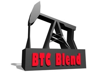btc blend crude oil benchmark