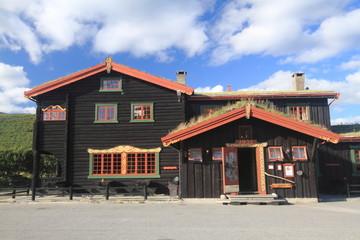 parco nazionale dovrefjell norvegia casa tipica