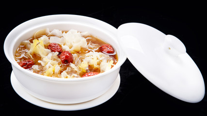 Chinese traditional cuisine, Lotus seed soup with red date
