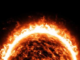 Sole stella spazio universo