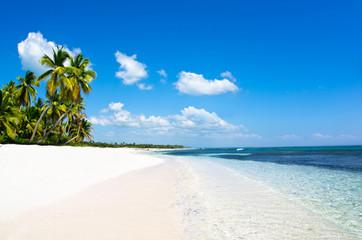Deurstickers Strand blue sea