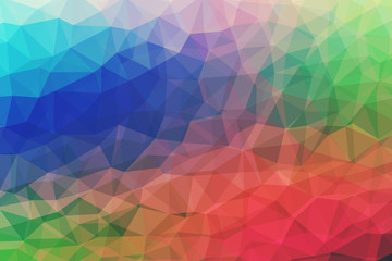 Abstract Vintage Polygonal Background