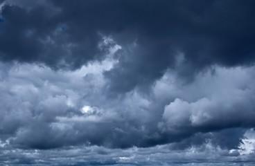 Keuken foto achterwand Hemel Stormy clouds