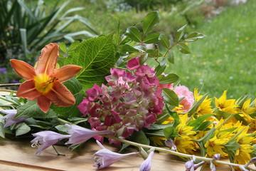Blumengrüße aus dem Garten