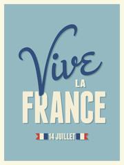 Long Live France Card Design