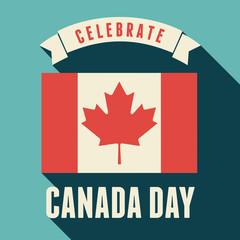 Canada Day Card Design
