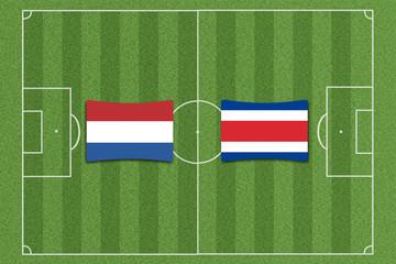 Niederlande vs. Costa Rica