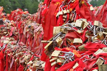 Hua Shan padlocks