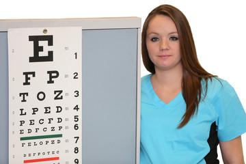 Eye Examination Chart, optometry